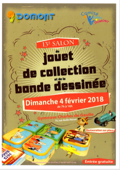 Le salon du jouet de collection et de la BD